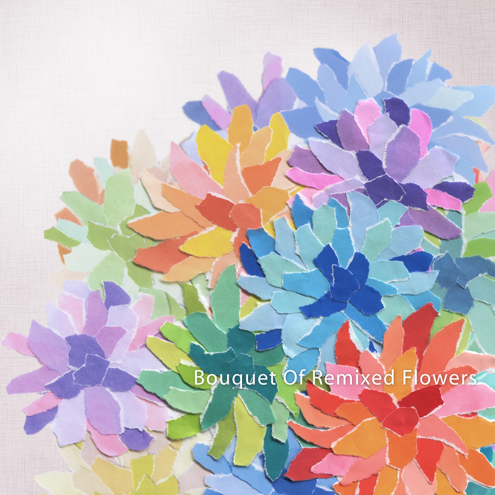 Bouquet Of Remixed Flowers