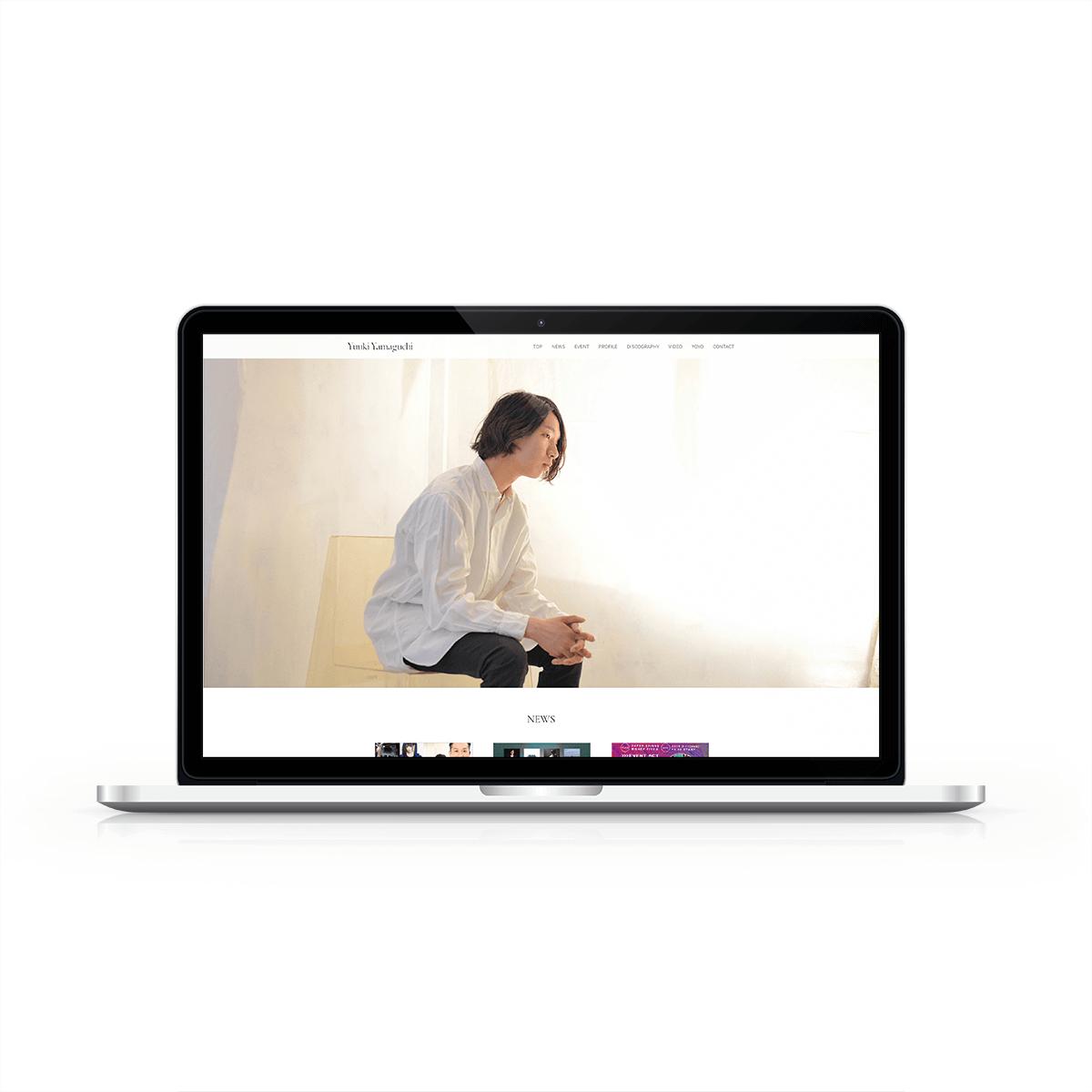 Yuuki Yamaguchi official web site